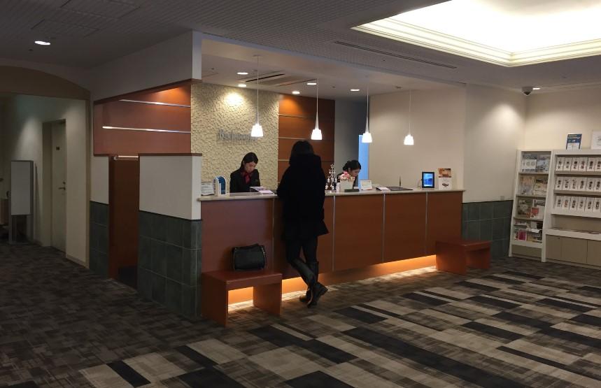 リッチモンドホテル浜松のフロントの写真