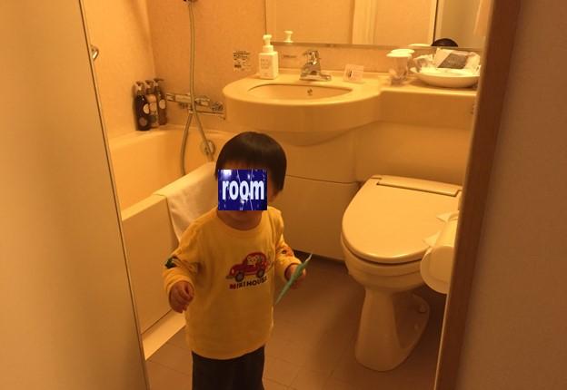 リッチモンドホテル浜松の部屋トイレとお風呂の写真