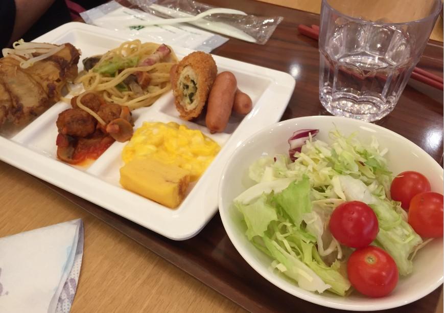 リッチモンドホテル浜松の朝食の写真