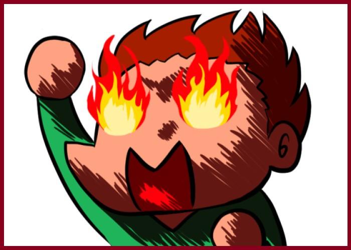燃える全力少年